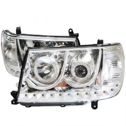 Angel Eyes Headlights Toyota Land Cruiser HDJ 100