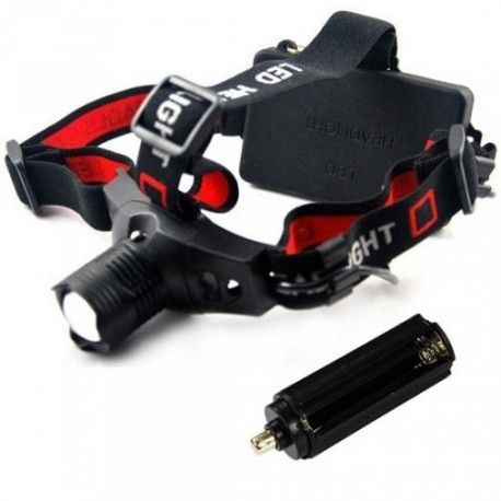 Torche frontale Free-headlight LED CREE Q5 - Support 3 piles
