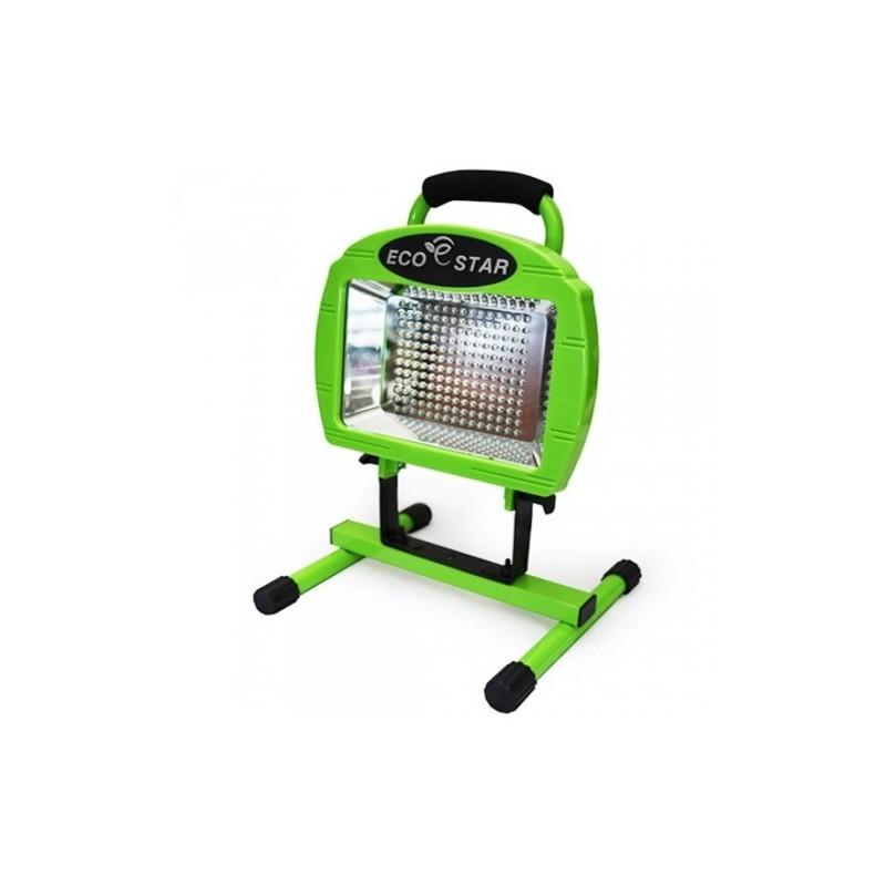 projecteur 180 led sur batterie rechargeable 12 watts. Black Bedroom Furniture Sets. Home Design Ideas