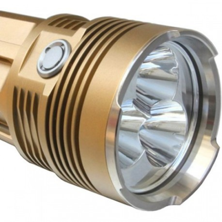 Torche triple LED CREE XM-L T6
