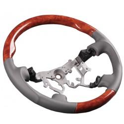 Volant pour Toyota LandCruiser HDJ100 cuir gris