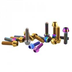 Vis titane M5 CHC-C multiple couleurs