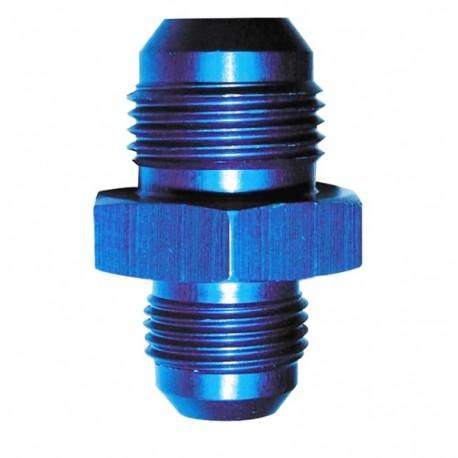 Raccord de réduction JIC vers JIC - aluminium anodisé bleu
