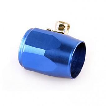 Bague de serrage aluminium anodisé bleu type Serflex AN4 - AN12