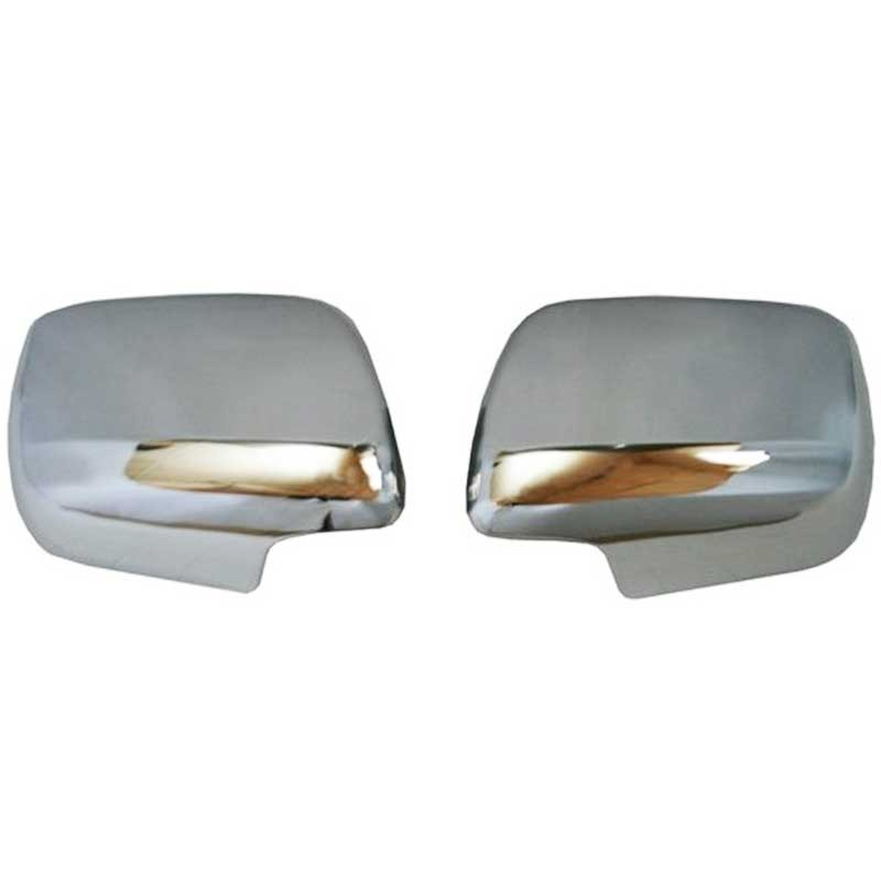 chrome mirror covers toyota land cruiser vdj200. Black Bedroom Furniture Sets. Home Design Ideas