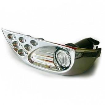 Paire d'antibrouillard pour Toyota KDJ 120 / 125 halogène plus veilleuse LED