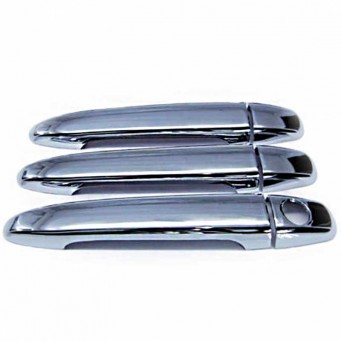 Chrome door handles for Toyota Land Cruiser KDJ 125