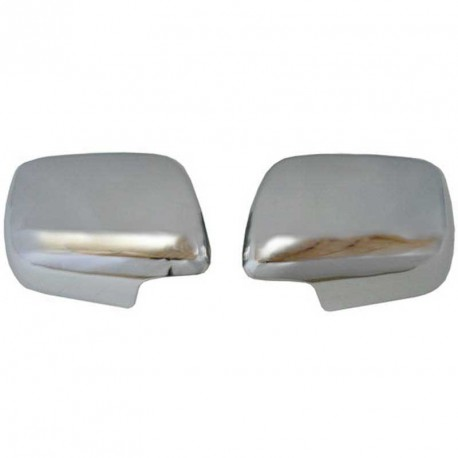 Chrome mirror covers Toyota Land Cruiser KDJ 125 / 120