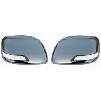Chrome mirror covers Toyota Land Cruiser KDJ 150