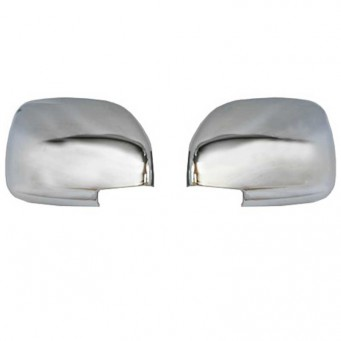 Chrome mirror covers Toyota land cruiser HDJ200