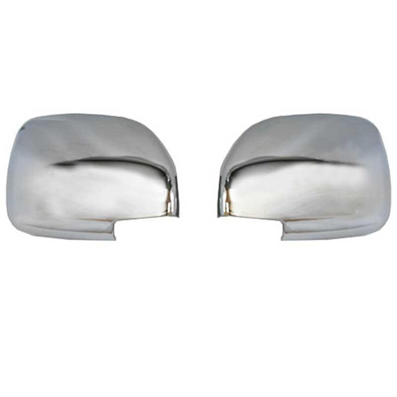 chrome mirror covers toyota land cruiser hdj200. Black Bedroom Furniture Sets. Home Design Ideas
