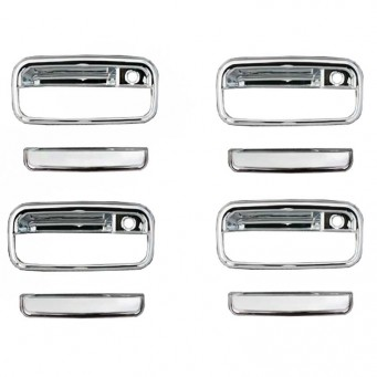 Chrome handles pourToyota land cruiser KDJ 90/95