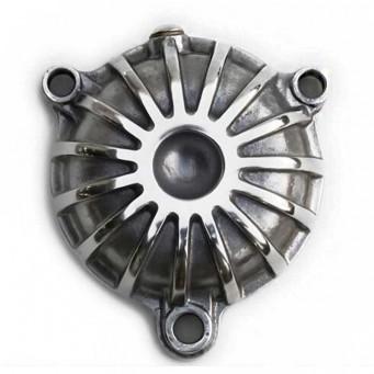 Carter de filtre à huile jack pour yamaha 500 XT - SR aluminium finition alu poli
