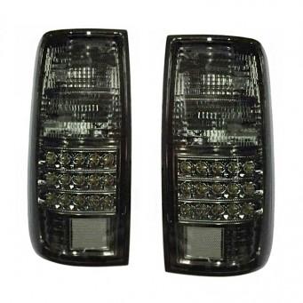 Paire feux arrière LED pour Toyota land cruiser HDJ80 black
