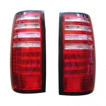 Paire feux arrière LED pour Toyota land cruiser HDJ80 rouge