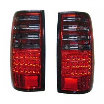 Paire feux arrière LED pour Toyota land cruiser HDJ80 rouge smoke