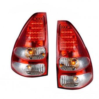 Paire feux arrière LED pour Toyota land cruiser KDJ 120 / 125 rouge