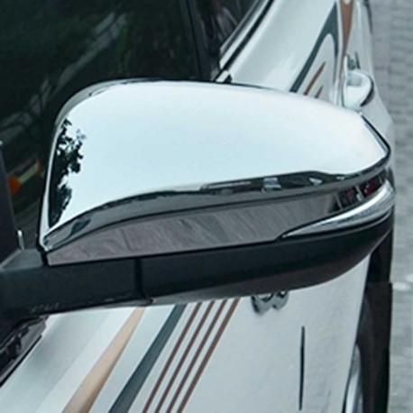 Coques de rétroviseur chromé Toyota Rav4 serie 1