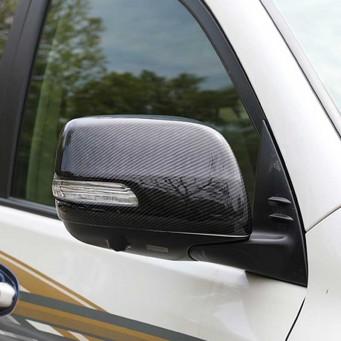 Chrome mirror covers Toyota Land Cruiser KDJ 150