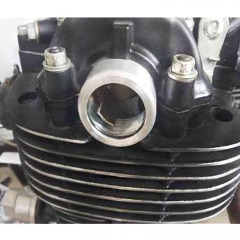 Grand hublot kick starter pour moteur yamaha 500 XT - SR aluminium