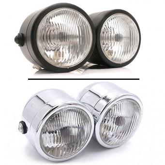 phare de moto LED
