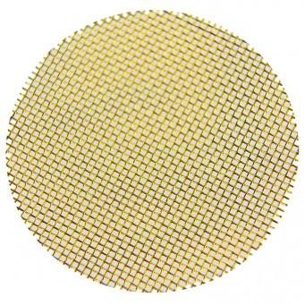 Filtre pour cornet de carburateur en laiton filtre mesh 20 - diamètre 57mm