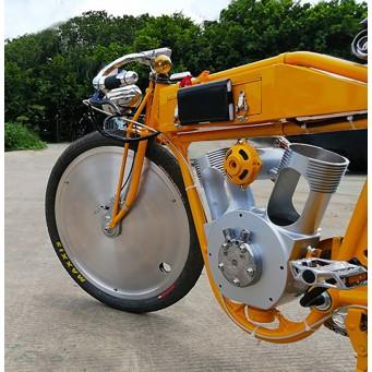 Craftsman Motorcycle, saveurs d'antan le vélocipède motorisé des années 20