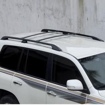 Barres de toit transversale pour Toyota land cruiser VDJ 200 couleur noir ou argent